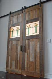 Salvaged Barn Doors by Portfolio Of End Grain Woodworking Company Products
