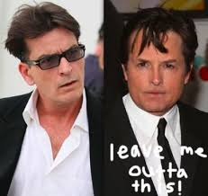 Michael J Fox Meme - charlie sheen has a michael j fox clause in his contract wtf