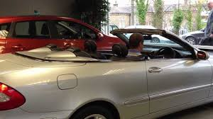 fp05npc mercedes clk convertible roof operation for sale youtube