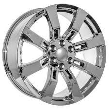 Used 24 Inch Rims 24 Inch Chrome Chevy Wheels Fits Silverado Tahoe Suburban Usarim