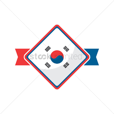 Korea Flag Image Free South Korea Flag Icon Vector Image 1624272 Stockunlimited
