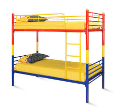 Buy Bunk Bed Online India Buy Nemo Bunk Bed Without Storage Home By Nilkamal Red Yellow