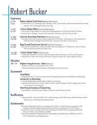 best layout for a resume resume layout 2017