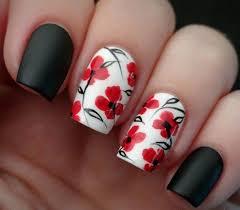 best 25 red black nails ideas on pinterest halloween nail art