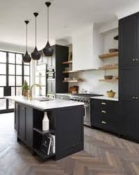 kitchen cabinets on top of floating floor 39 black kitchen cabinets ideas black kitchens black