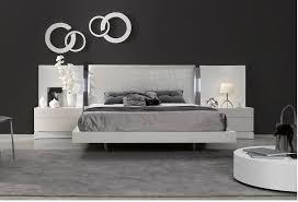 Modern Platform Bed With Lights - modern contemporary platform beds storage beds leather headboards