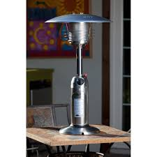 stainless steel commercial patio heater 7 ft steel umbrella propane patio heater in stainless steel with