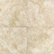 shop american olean 12 in x 12 in strathmore cream ceramic floor