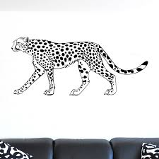 Wall Stickers Cats Leopard Big Cat Wall Sticker World Of Wall Stickers