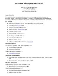 Resume Job History Format by Resume Objective Skills Resume For Your Job Application