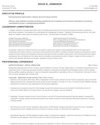 Resume Format For Aviation Ground Staff Military To Civilian Resume Samples