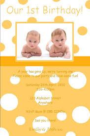 twins 1st birthday invitations u2014 liviroom decors simple twin