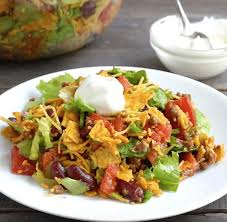 dorito taco salad the country cook