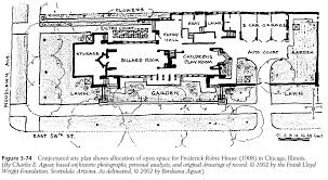 site plan of robie house house and home design