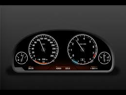 bmw speedometer what is the emptied panel used just below the speedometer on the dash