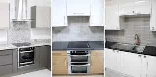 kitchen splashback tiles ideas for different look try mixing materials such tile and glass