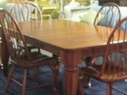 Bobs Furniture Dining Room Sets Bob Timberlake Lexington Cherry Dining Room Table 4 Windsor Chairs