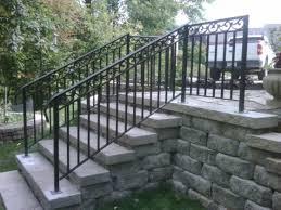 exterior metal stair railing a more decor