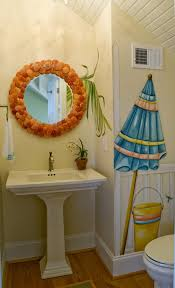 bathroom ideas 6 classic umbrella murals in small eclectic
