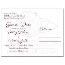 Fundraising Invitation Card Fall Sunflower Wedding Save The Date Postcard Burgundy Yellow