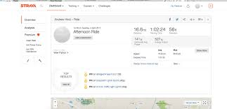 Map My Running Route by Strava Or Map My Ride Which Is Best For The Midlife Rider