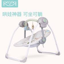 portable baby swing with lights 2018 new babyruler portable baby cradle newborn light music rocking