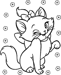 cute disney aristocats coloring wecoloringpage