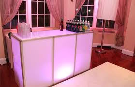 bar rentals led portable bar rental li ny led furniture