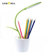 lemonda lemonda sapling pen holder touchable led desk lamp with 3