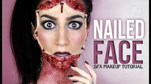 Bat Face Makeup Halloween by Nailed Face Halloween Makeup Tutorial Youtube