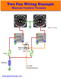 electric fan relay wiring diagram elvenlabs com