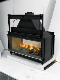fireplace insert wood binhminh decoration