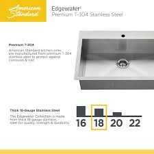 faucet com 18db 9332211 075 in stainless steel by american standard