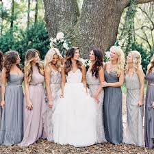 mix match bridesmaid dresses best 25 mismatched bridesmaids blue ideas on