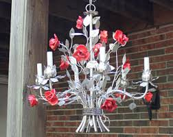 Italian Porcelain Chandelier Italian Lighting Etsy