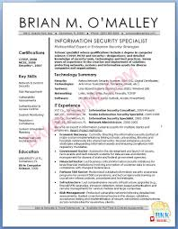Resume It Sample by Security Specialist Cover Letter