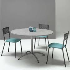table ronde cuisine pied central table de cuisine rectangle en stratifié elias 4 pieds tables