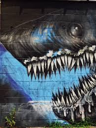 atlanta graffiti shark on the wall tokidoki nomad image image image image
