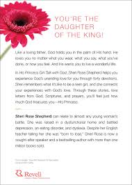 his princess talk with god love letters and devotions for