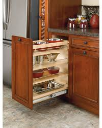 Kitchen Cabinets Pull Out Rta Base Cabinet Pullout Organizer With Wood Adjustable Shelves