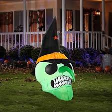 Inflatable Halloween Decorations Inflatable Halloween Outdoor Decorations Fun Things Powered By
