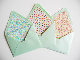 diy envelope template and envelope liner kit