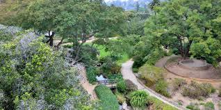 Santa Barbara Map Santa Barbara Botanic Garden American Public Gardens Association