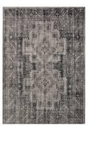 kyra hand knotted rug ballard designs blue white wool rug