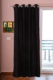 Thick Black Curtains Silk Curtains 40 101 Cm Wide X 48 122 Cm Backed