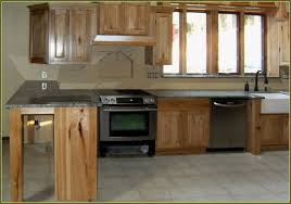 New Kitchen Cabinets Hickory Kitchen Cabinets Lowes With Granite Countertop Kitchen