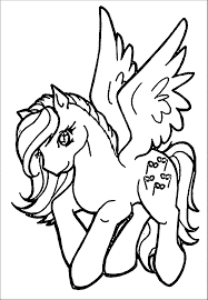 clip art my little pony kids we coloring page image 24078
