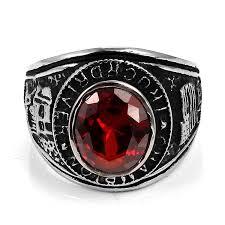 jewelrywe vintage style stainless steel biker ring mens engagement
