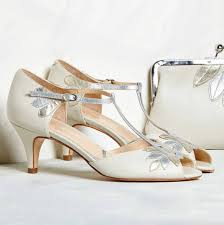 wedding shoes isla ivory leather wedding shoes by