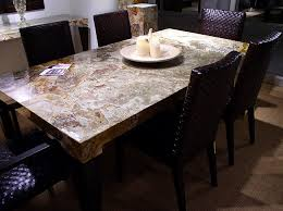 Dining Room Tables With Granite Tops Modern Dining Room Sets - Granite top dining room tables